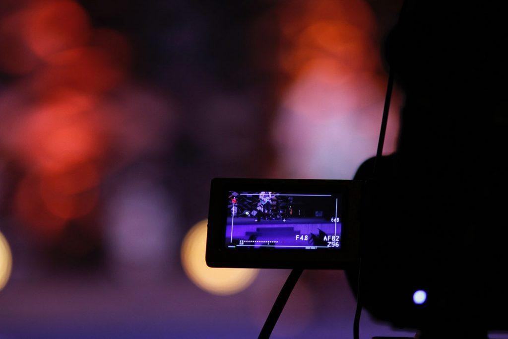 Video Camera In a Dark Room