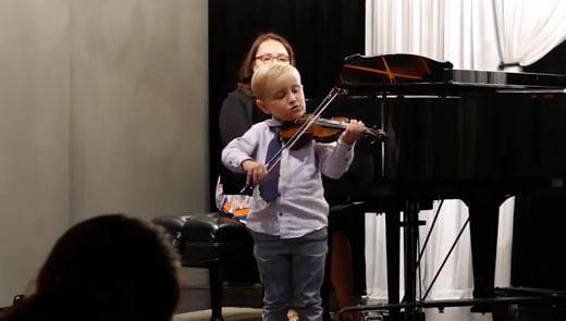 Spring Violin Recital Highlight Reel - Youtube