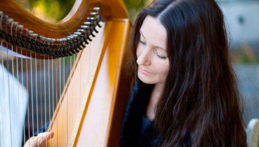 Harpist Hollienea - Waltz OF Love - Youtube