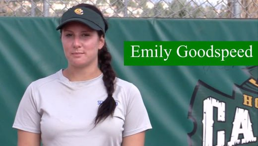 Emily Goodspeed Pitcher Outfielder Class of 2015