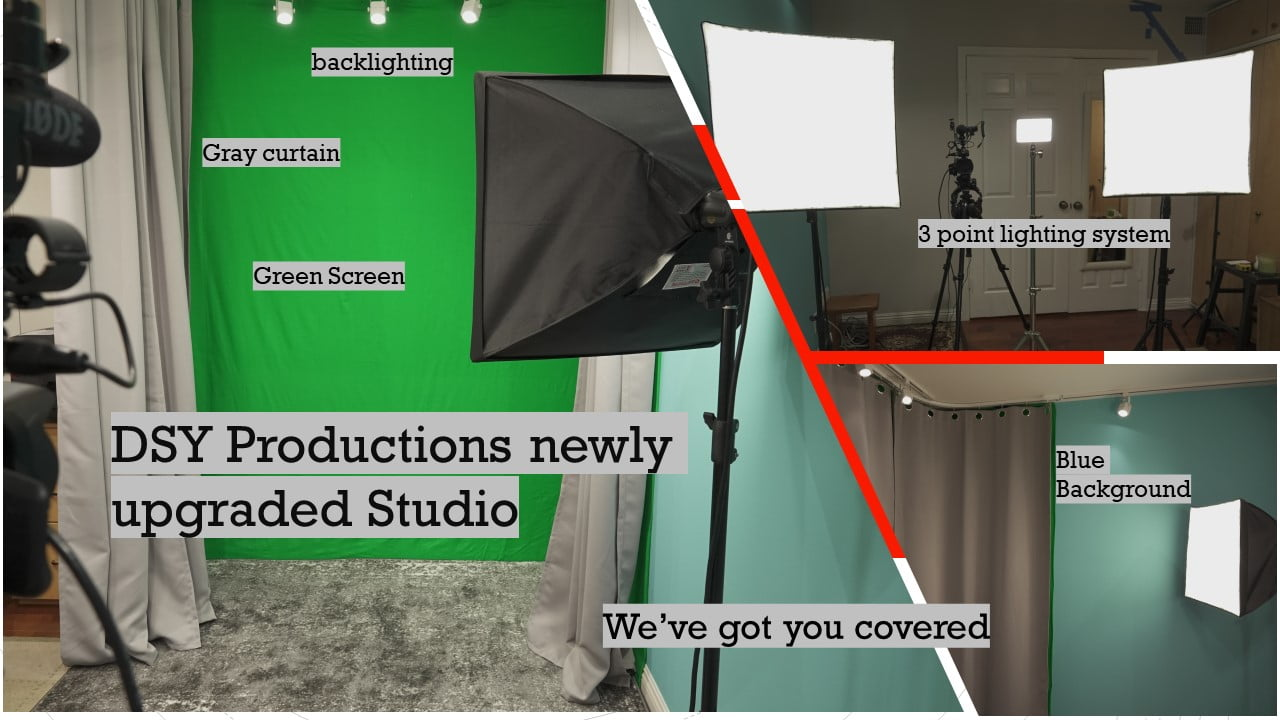 Photos Of The Studio